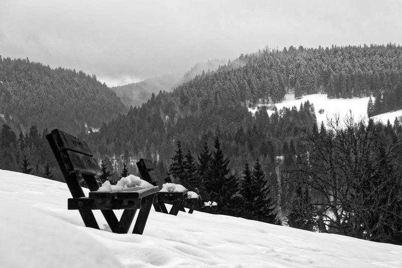 massif du Jura - sur les hauteurs de Joux