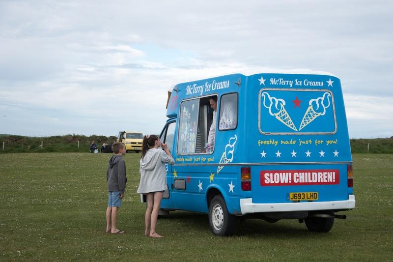 Skokholm le camion de glace