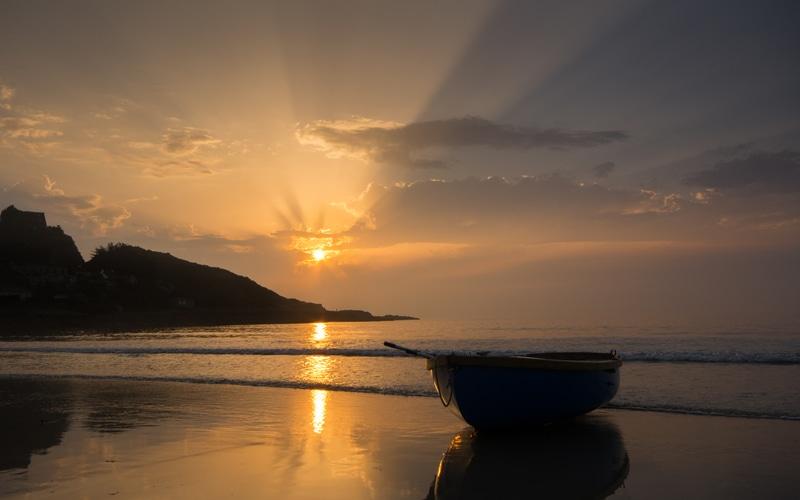 Cotentin couché de soleil