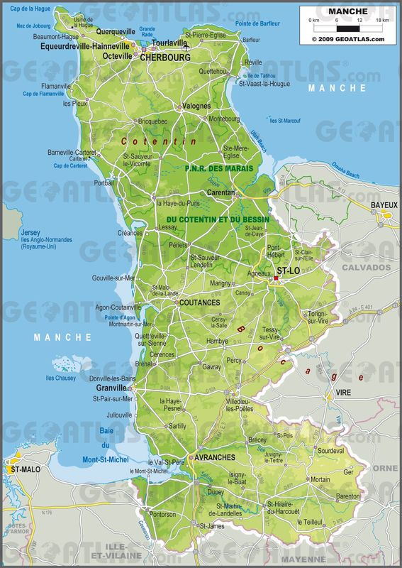 la département de la Manche - Cotentin
