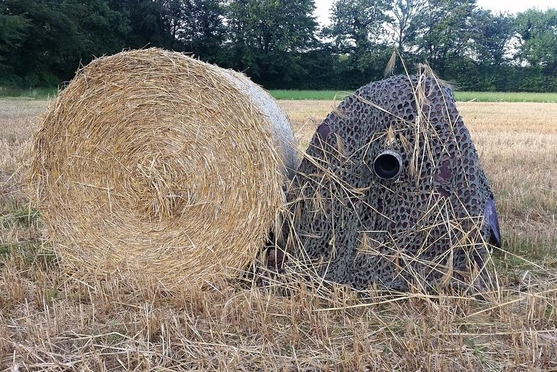 Camouflage en mode round baller